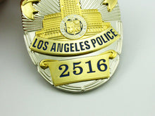 Load image into Gallery viewer, LAPD Los Angeles Police Detective Badge Replica Movie Props With No.2516