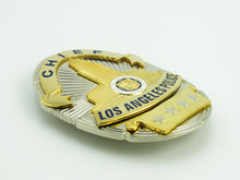 Load image into Gallery viewer, LAPD Chief Los Angeles Police Badge Replica Movie Props With Four Star