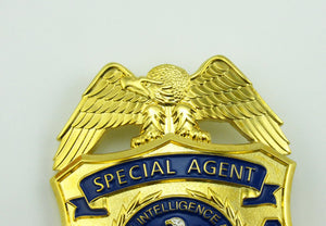 CIA Protective Operations Division Special Agent Badge Replica Movie Props With No.943