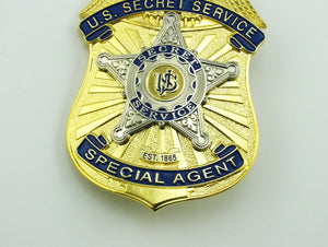 USSS U.S. Secret Service Special Agent Badge Replica Movie Props
