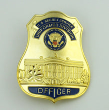 Load image into Gallery viewer, USSS Officer U.S Secret Service The White House Defense Badge Replica Movie Props