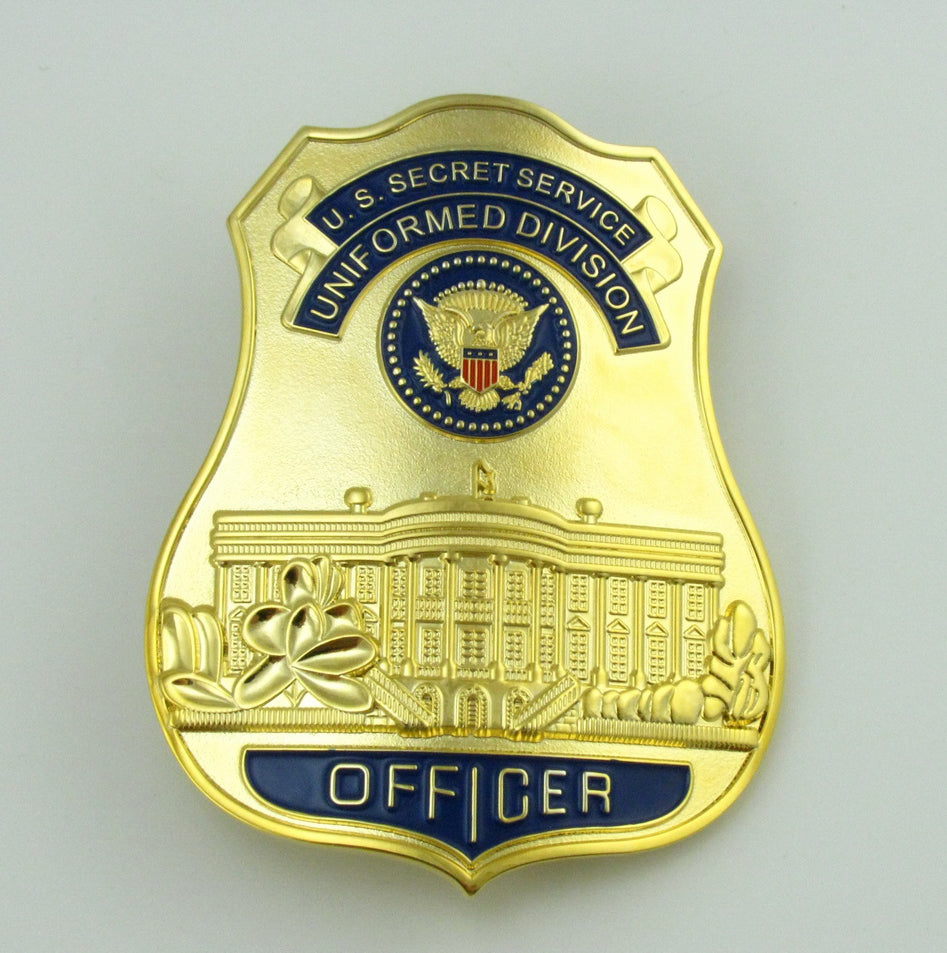 USSS Officer U.S Secret Service The White House Defense Badge Replica Movie Props