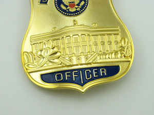 USSS The White House Defense Officer Badge Replica Movie Props