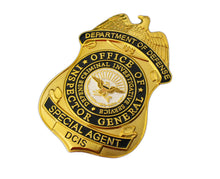 Load image into Gallery viewer, DCIS Defense Criminal Investigation Service Special Agent Badge Replica Movie Props