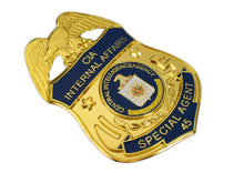 Load image into Gallery viewer, US CIA Internal Affairs Special Agent Badge Replica Movie Props With No.45