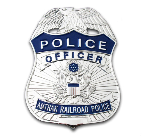 APD Amtrak Railroad Police Officer Badge Replica Movie Props