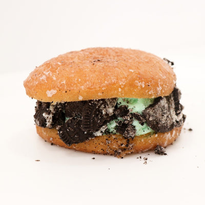 Donut Ice Cream Sandwich
