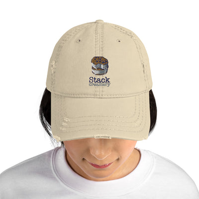 Stack Creamery - Distressed Hat