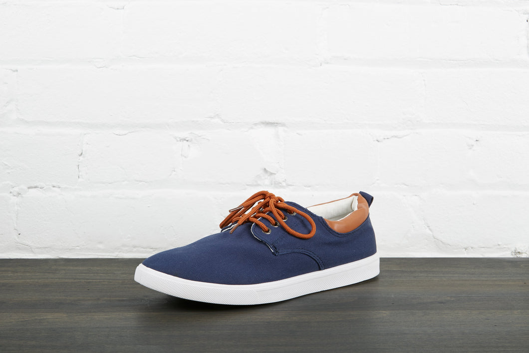 Blue Casual Shoe