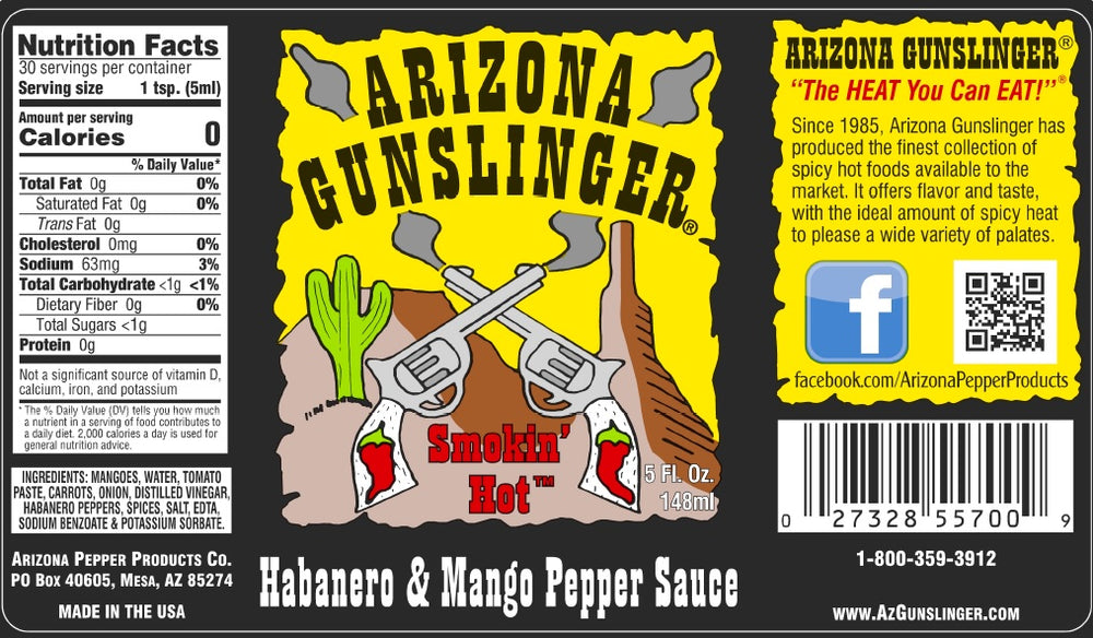Arizona Gunslinger Habanero Mango