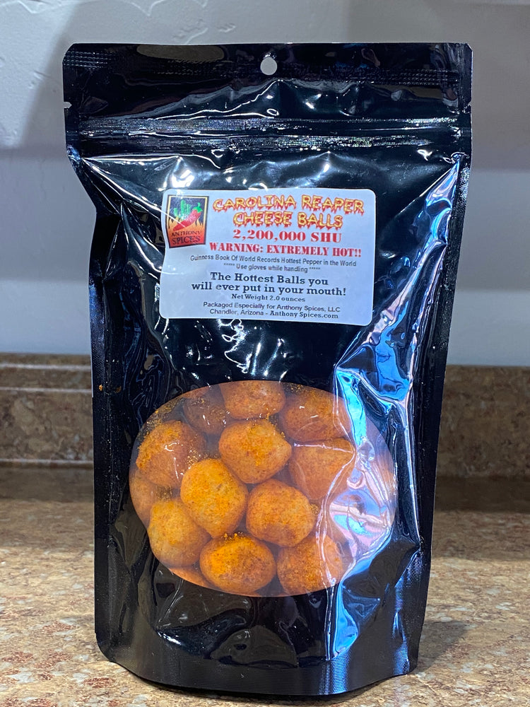 Load image into Gallery viewer, Carolina Reaper Cheese Balls