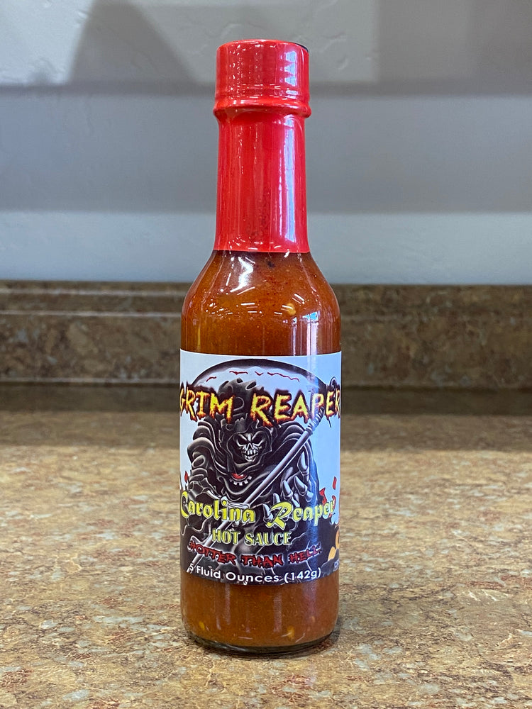 Load image into Gallery viewer, Grim Reaper Hot Sauce
