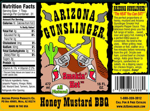 Arizona Gunslinger Honey Mustard