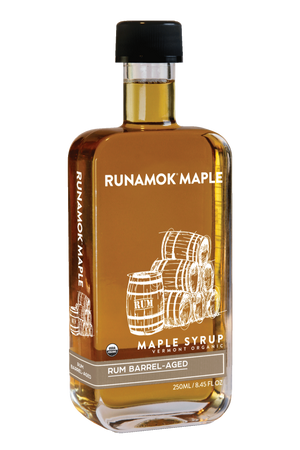 Rum Barrel Aged Maple Syrup