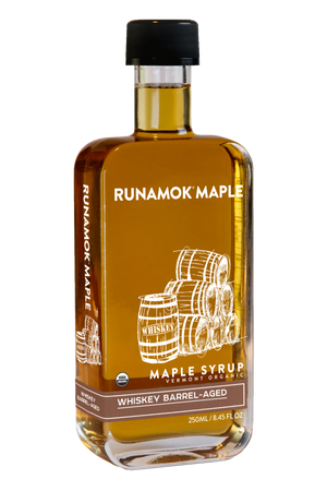 Whiskey Barrel Aged Maple Syrup