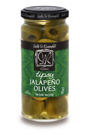 Load image into Gallery viewer, Tipsy Jalapeño Olives