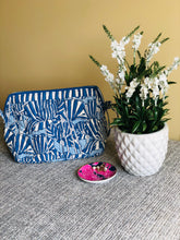 Load image into Gallery viewer, Blue Mosaic Shell Care Bag (Set of - 2)