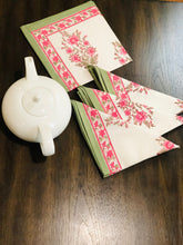 Load image into Gallery viewer, Rosy Posy Napkins