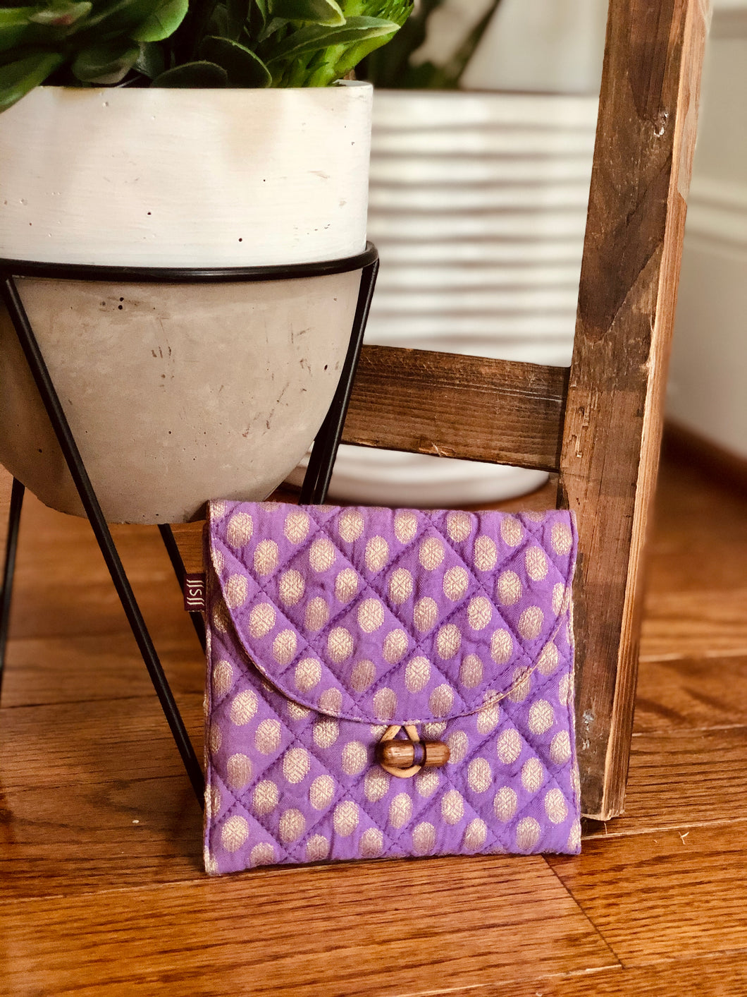 Lavender Brocade Gift Card Square
