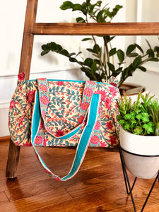 Hold All Bag in Paisley Floral