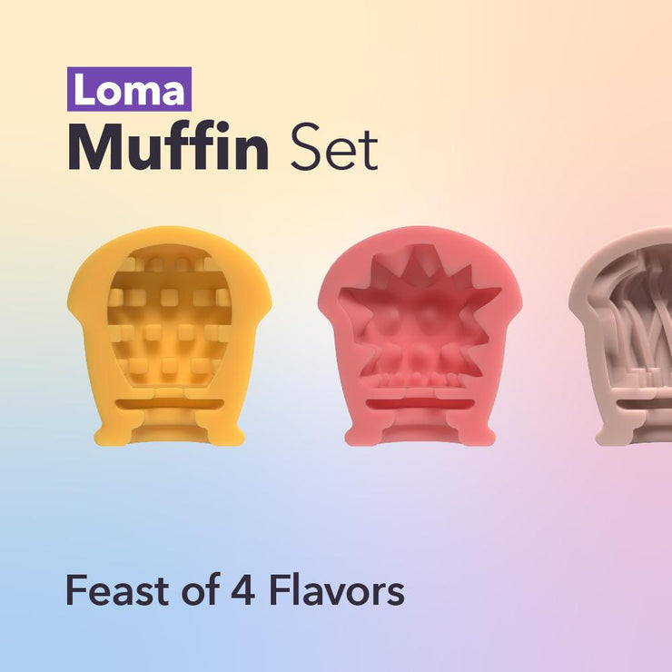 Loma Muffin 3+1 Set - Loma Muffin 3+1 Set - Loma Original