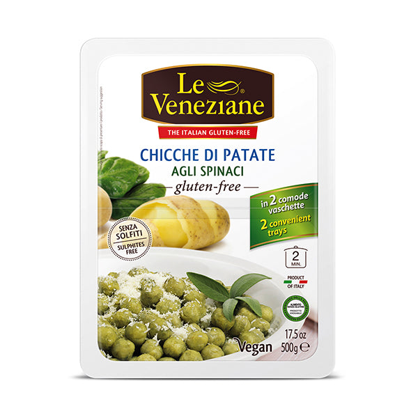 Le Veneziane Potato Gnocchi with Spinach