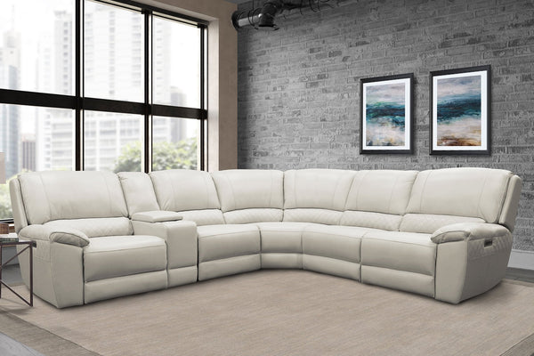 SCOTT ALABASTER 6-PIECE SECTIONAL - PACKAGE A