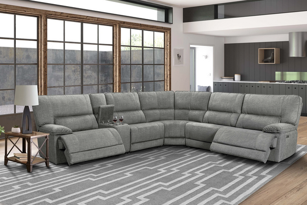 Marathon - Titanium 6Pc Sectional