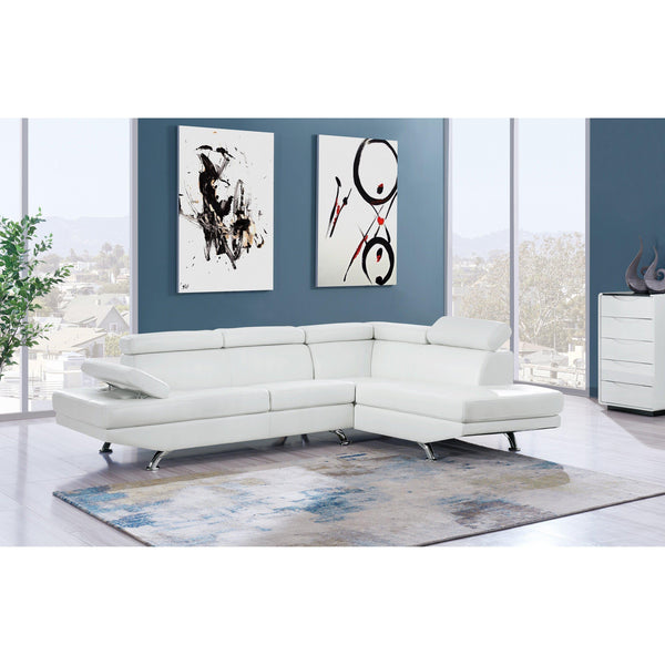 Melis 2 PC Sectional-Jennifer Furniture