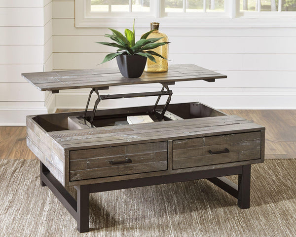 Mondoro Lift Top Cocktail Table-Jennifer Furniture