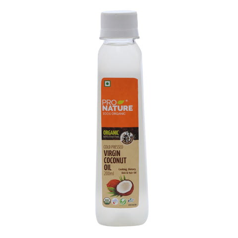 Virgin Coconut Oil 200  ml Glass
