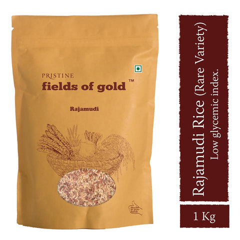 PRISTINE Fields Of Gold Rajamudi Rice, 1 kg