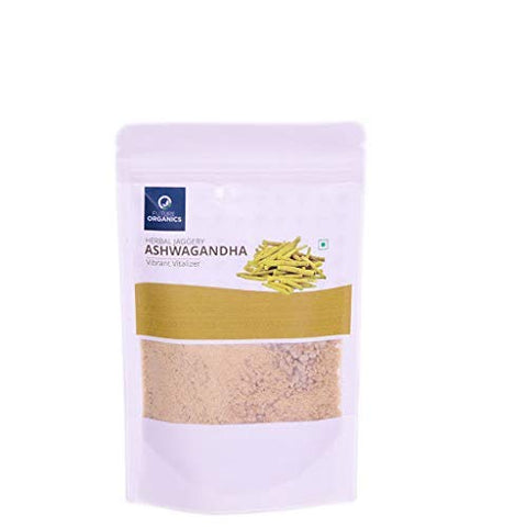 Herbal Jaggery with Ashwagandha 200 gm (Pack of 2, 100 Gram Each)