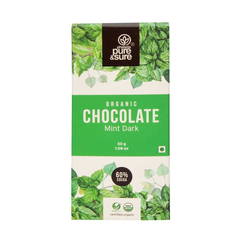 Chocolate Bar  Mint Dark 30 g
