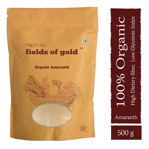 PRISTINE Fields of Gold Organic Amaranth,  500 g