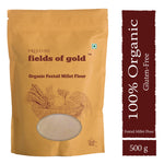 PRISTINE Fields of Gold Organic Foxtail Millet Flour , 500 g Pack of 2