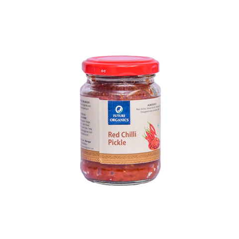 Red Chili Pickle 320 gm (Pack of 2, 160 Gram Each)