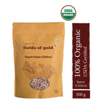 PRISTINE Fields of Gold Organic Rajma Chitra , 500 g Pack of 2