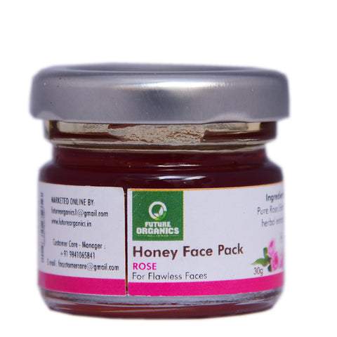 Rose Face Mask 60 gm (Pack of 2, 30 gr Each)