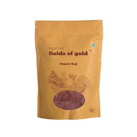 PRISTINE Fields of Gold Organic Ragi/ 500 g/40 Pack of 3