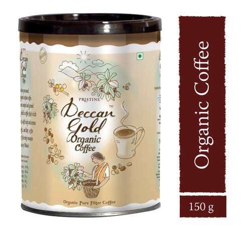 PRISTINE Deccan Gold Organic Filter Coffee, 150 g