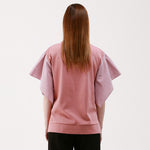 hankerchief sleeve t-shirt - MAKE
