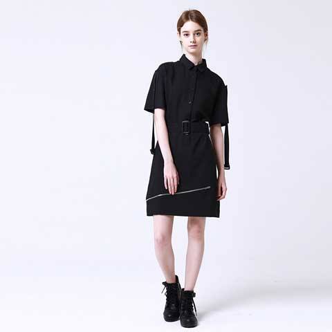 transform-unbalance-zip-string-dress - MAKE