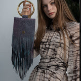 arknic tassle_aurora purple - MAKE