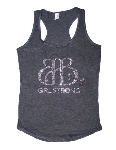 BAB Girl Strong Tank Grey