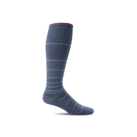 Men's Denim Circulator Compression Socks