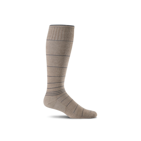 Men's Khaki Circulator Compression Socks