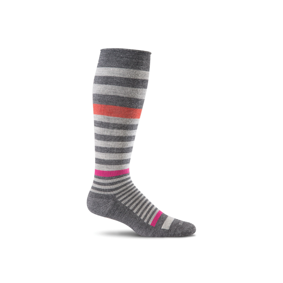 Women's Charcoal Orbital Compression Socks
