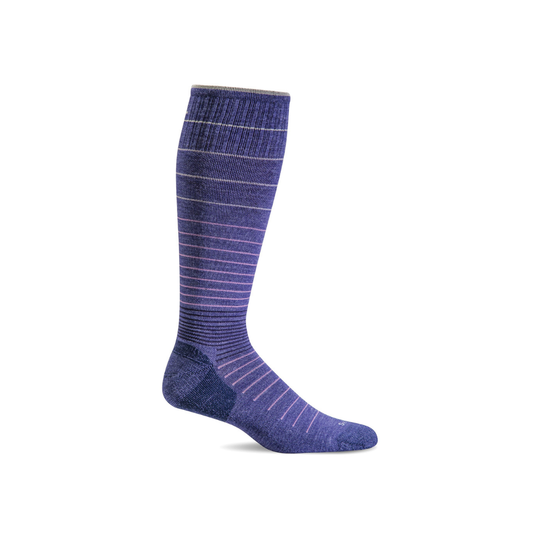 Women's Hyacinth Circulator Compression Socks