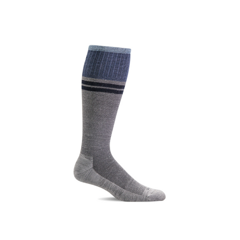 Men's Light Grey Sportster Compression Socks